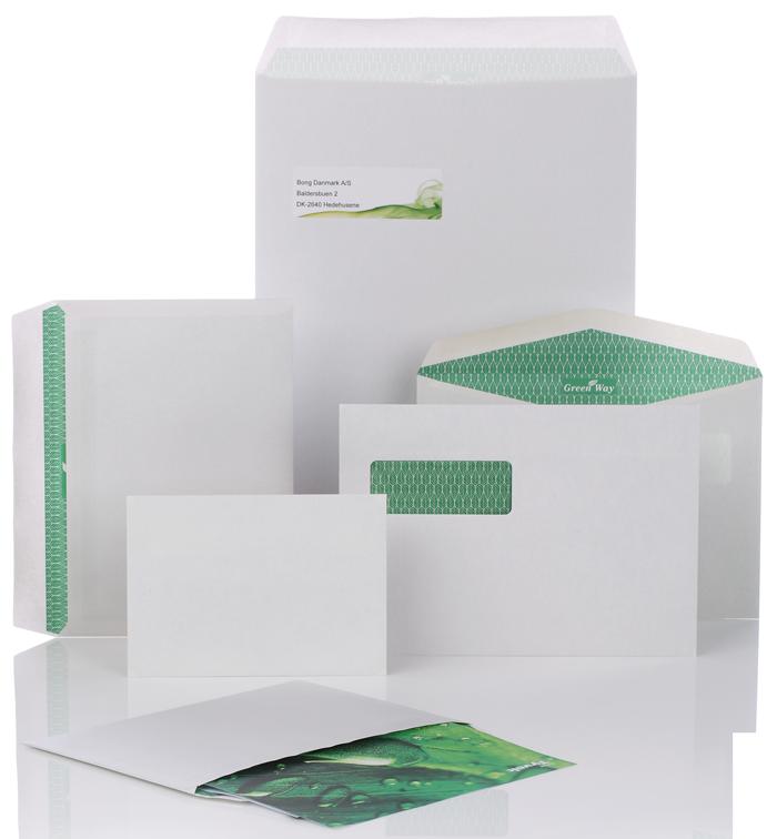 miljøvenlige konvolutter