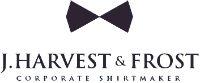 j. harvest & frost logo tøj med firmalogo & skjorter med logo