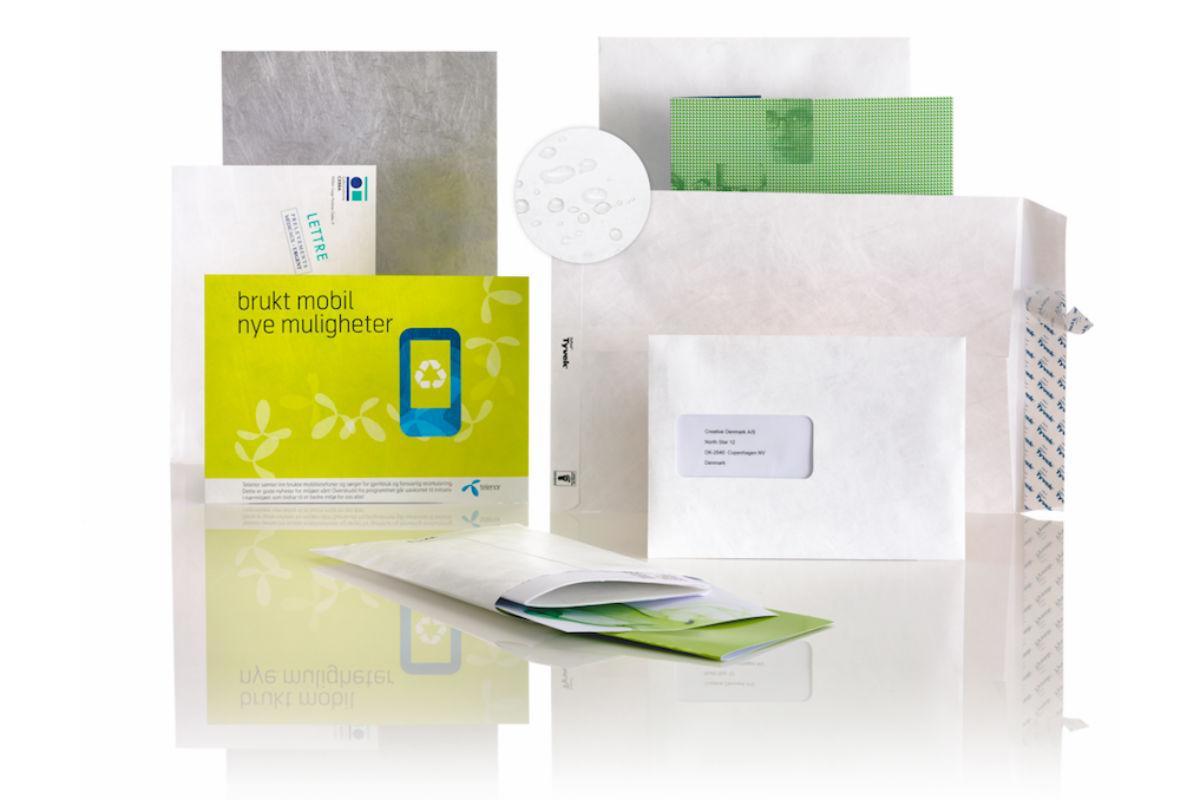 Tyvek konvolutter til e-handel