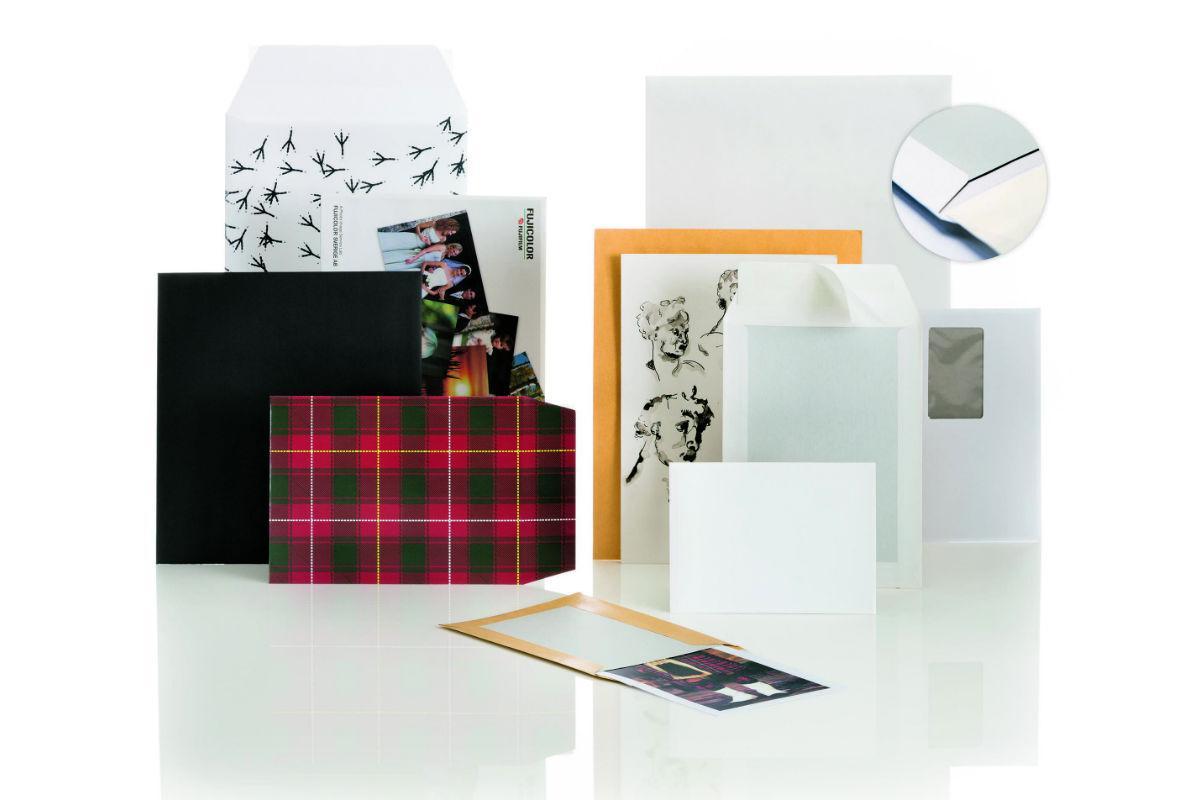konvolutter med papbagsider til e-handel