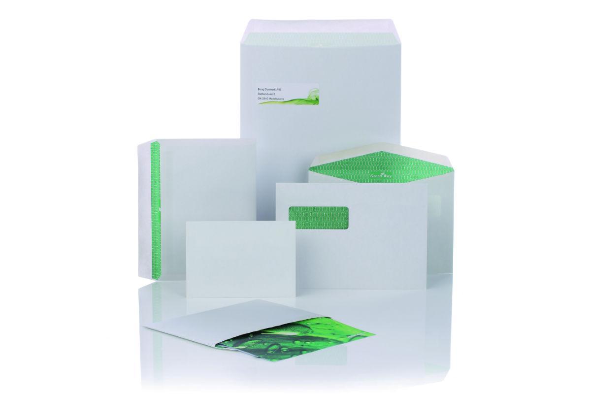 konvolutter i miljøvenlig greenway kvalitet