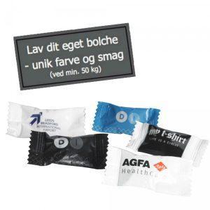 flow pack bolsjer med logo