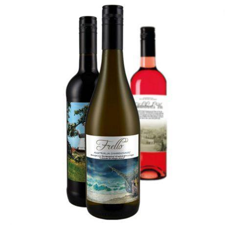 Vin med private label - rød, hvid & rosé. Vin med logo