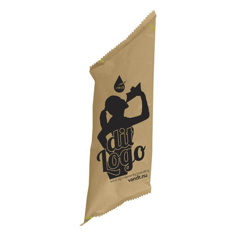 vand med logo